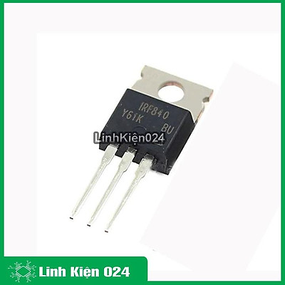 Sản phẩm MOSFET IRF840 TO-220 8A 500V N-CH
