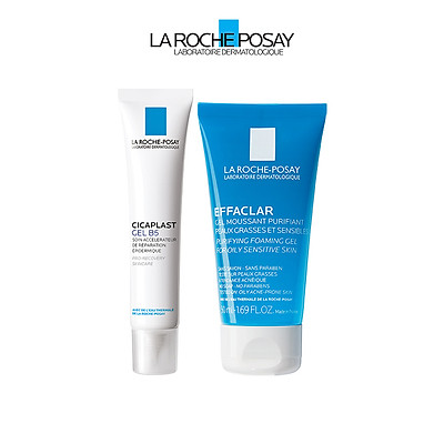 Bộ kem dưỡng giúp làm mờ sẹo, hỗ trợ phục hồi & tái tạo da La Roche Posay Cicaplast Gel B5