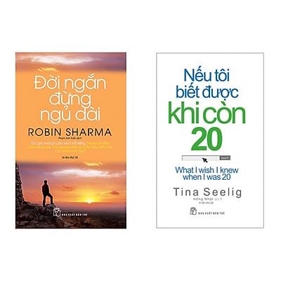 Combo 2 cuốn : Nếu Tôi Biết Được Khi Còn 20 +Đời Ngắn Đừng Ngủ Dài