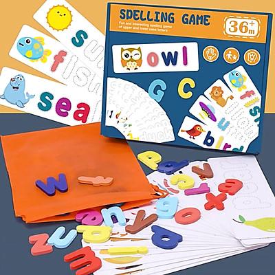 Hộp trò chơi đánh vần cho bé - Spelling Game