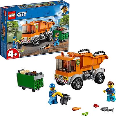 Đồ Chơi Lắp Ghép, Xếp Hình LEGO - Xe Tải Chở Rác 60220 (Hàng Clearance-Không Đổi Trả)