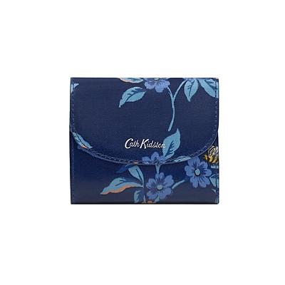 Ví gập mini Cath Kidston họa tiết Greenwich Flowers (Small Foldover Wallet Greenwich Flowers)