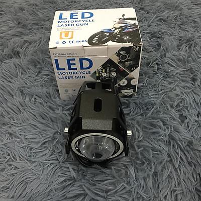 Đèn bi cầu U7 (có viền đèn LED) cực sáng, dễ dàng lắp đặt cho ô tô, xe máy, Độ bền bóng cực cao với tuổi thọ hơn 50.000 giờ - A88
