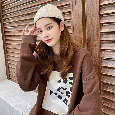 Mũ len tròn dệt kim thu đông beanie kiểu yuppie dưa hấu phong cách hipop dành cho cả nam và nữ nhiều màu - Smice House