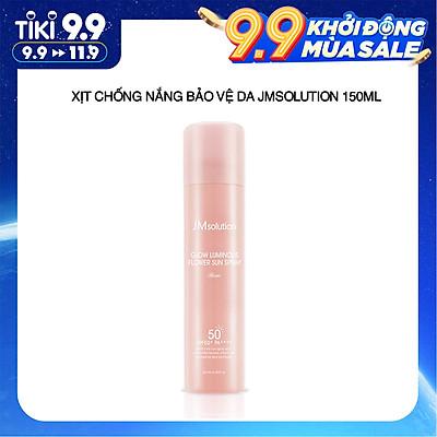 Xịt Chống Nắng Ngừa Lão Hóa Bảo Vệ Da Jmsolution Glow Luminous Sun Spray 180ml