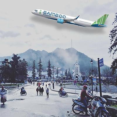 [HCM] Tour 4N3Đ Hà Nội - Sapa - Royal City - City Tour, Bay Bamboo Airways, Khởi Hành Thứ 7 Hàng Tuần