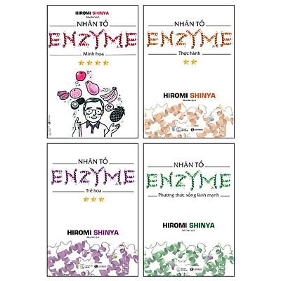 Combo Nhân Tố Enzyme - Tái Bản (Bộ 4 Cuốn)