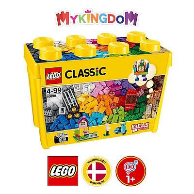 Bộ Lắp Ráp Thùng Gạch Lớn Classic Sáng Tạo LEGO CLASSIC 10698 (790 chi tiết)