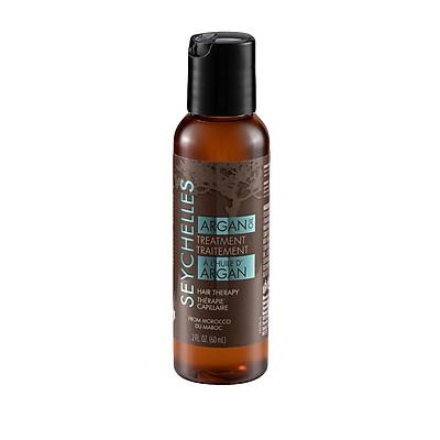 TINH DẦU PHỤC HỒI DƯỠNG TÓC CHIẾT XUẤT TỪ TINH DẦU ARGAN - SEYCHELLES ARGAN OIL TREATMENT cung cấp độ ẩm cho mái tóc, cho tóc luôn suôn mượt (60ml)