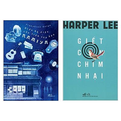 Combo Truyện Hấp Dẫn: Điều Kỳ Diệu Của Tiệm Tạp Hóa Namiya + Giết Con Chim Nhại (Bộ Sách Bán Chạy Bán Chạy Nhất Trong Tháng / Tặng Kèm Bookmark Happy Life)