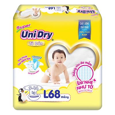 Tã Dán Cho Bé Unidry (G6+) Size L68 (68 miếng)