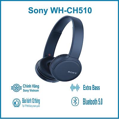 Tai nghe không dây Sony WH-CH510 - Hàng chính hãng