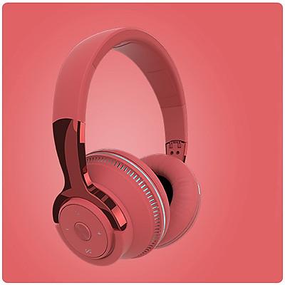Tai nghe chụp tai H2, tai nghe không dây kết nối bluetooth 5.1, đường kính loa 40mm, pin 650 mAh nghe nhạc lên đến 12h- Hàng nhập khẩu