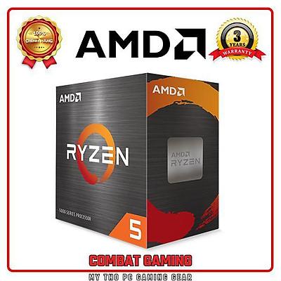 Bộ Vi Xử Lý CPU AMD RYZEN 5 5600X - Hàng Chính Hãng (Tem SPC)
