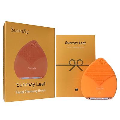 Máy rửa mặt Sunmay Luxury Leaf - Orange