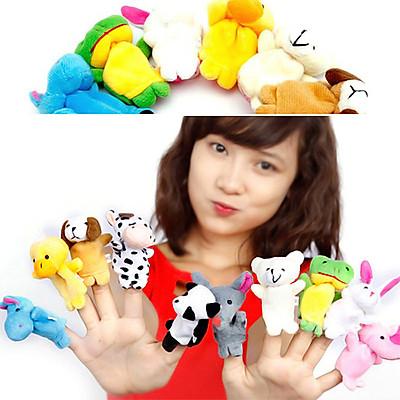 Rối ngón kể chuyện - set 10 động vật nuôi