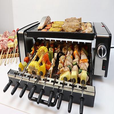 Bếp nướng BBQ điện không khói GM-H. Nướng và BBQ cùng lúc dễ dàng với bếp thế hệ mới. Hàng nhập khẩu Thái Lan chất lượng cao!!