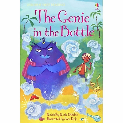 Sách thiếu nhi tiếng Anh - Usborne First Reading Level Two: The Genie in the Bottle