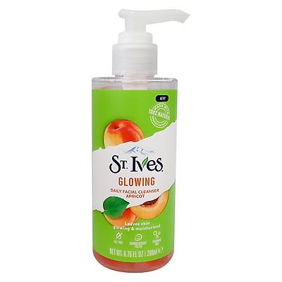 Sữa Rửa Mặt ST.IVES Dạng Gel Daily Facial Cleanser 200ml