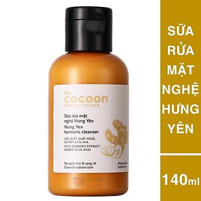 Sữa Rửa Mặt Nghệ Hưng Yên Cocoon 140ml