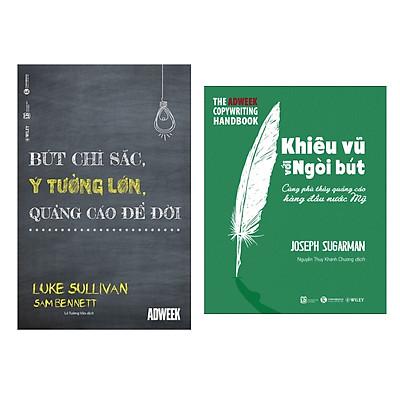 Combo sách hay nhất về kinh tế: Bút Chì Sắc, Ý Tưởng Lớn, Quảng Cáo Để Đời + Khiêu Vũ Với Ngòi Bút ( Tặng kèm Bookmark Thiết Kế)
