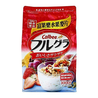 Bột yến mạch trái cây Calbee (1000g)