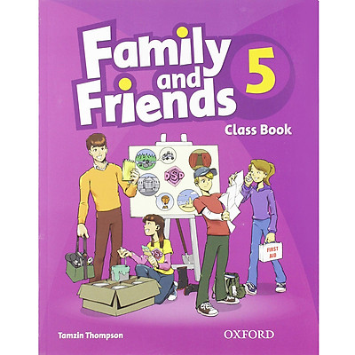 Family and Friends 5 Class Book (without MultiROM) (British English Edition)