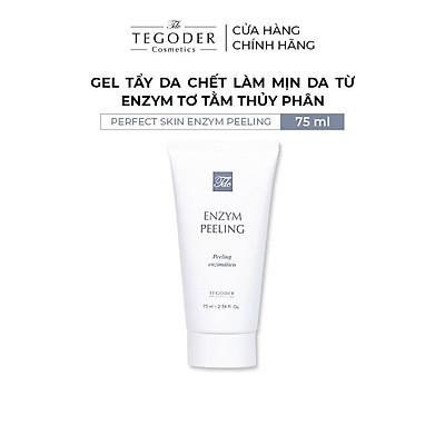 Gel tẩy da chết làm mịn da từ enzym tơ tằm thủy phân Tegoder Perfect skin enzym peeling 75 ml mã 0771
