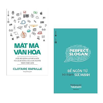 Combo 2 cuốn sách kinh tế hay: Mật Mã Văn Hóa + Để Ngôn Từ Trở Thành Sức Mạnh ( Tặng kèm Bookmark Happy Life)