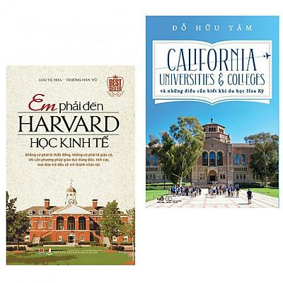 Combo em phải đến harvard học kinh tế + california và những điều cần biết khi du học tại Hoa Kỳ(bản đặc biệt tặng kèm bookmark)