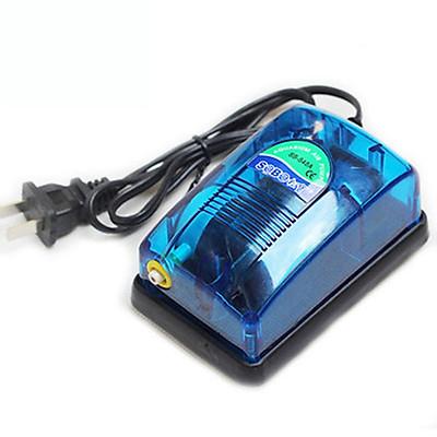 Máy sủi oxy 1 vòi Electrical RS-248A ( 3W - 2.5L/PHÚT) loại tốt, siêu êm, cung cấp oxy cho bể cá cảnh mini, hồ thúy sinh