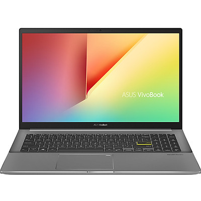 Laptop Asus VivoBook S533EA-BN115T (Core Core i5-1135G7/ 8GB DDR4 3200MHz/ 512GB SSD M.2 PCIE G3X2/ 15.6 FHD IPS/ Win10) - Hàng Chính Hãng