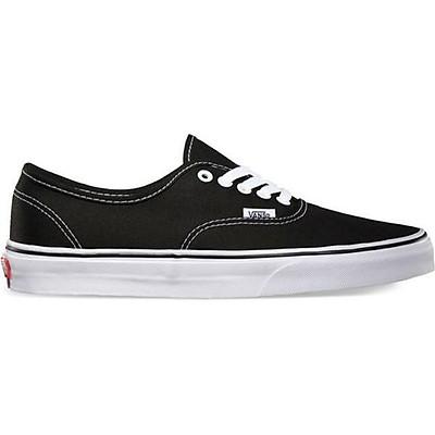 Giày Sneaker Unisex Authentic Vans VN000EE3BLK - Black