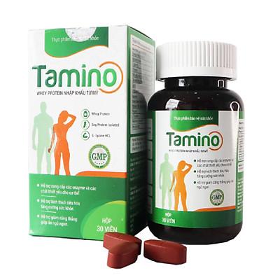 Viên Uống Tăng Cân TAMINO -  Bổ Sung Hợp Chất Whey Protein từ Mỹ
