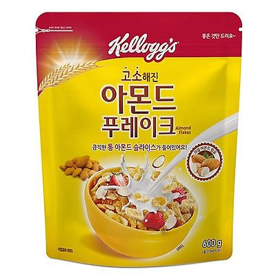 KELLOGGS Almond Flakes Cereal 600g