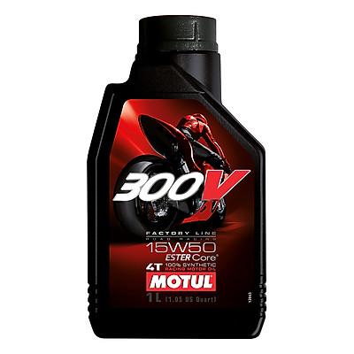 Nhớt Xe Số Motul 300v Factory Line Road Racing 15w50 12x1 (1L)
