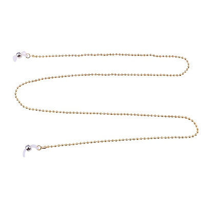 Stylish Beaded Reading Glasses Chain Eyeglass Chains Cords for Women Sunglasses String Holder 70cm