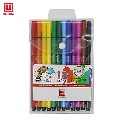 Bút lông màu Oringa 12 màu Hồng Hà - 8110
