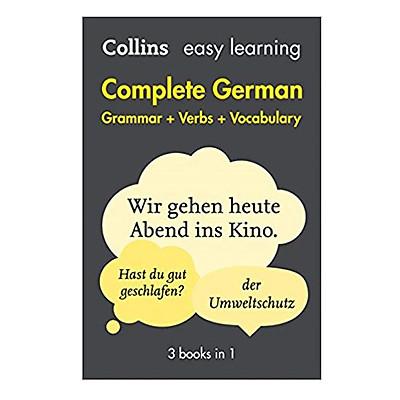 Easy Learning Complete German Grammar, Verbs & Vocabu