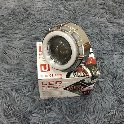 Đèn led Ô Tô U12 nhiều màu độ , Nhân sáng Projec siêu sáng 18W ( 3 CHẾ ĐỘ :PHA - CỐT - PASSING) - A89-U12