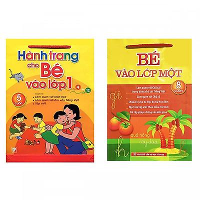 Combo Sách Chuẩn Bị Cho Bé Vào Lớp 1: Hành Trang Cho Bé Vào Lớp 1 (5 Cuốn) + Bé Vào Lớp 1 (8 Cuốn) - (Tặng Kèm Bookmark Thiết Kế)