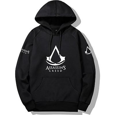 Áo Hoodies Assassins Creed Mũ Trùm Vải Nỉ Co Giãn 4 Chiều