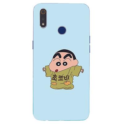 Ốp điện thoại dành cho máy Oppo Realme 3 Pro - Shin mặc đồ của bố MS ADITU005