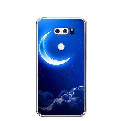 Ốp lưng dẻo cho điện thoại LG V30 - 0220 MOON01 - Hàng Chính Hãng