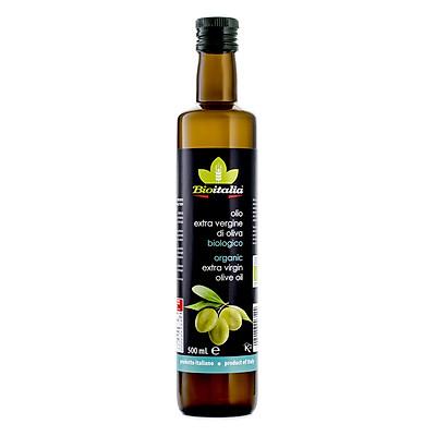 Dầu Olive Extra Virgin Hữu Cơ Bioitalia 250ml