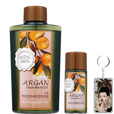 Tinh dầu thảo dược Argan Confume Argan Treatment Oil Hàn Quốc 120/25ml tặng móc khóa