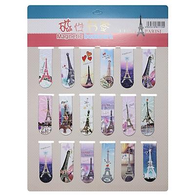 Bookmark Nam Châm Đánh Dấu Sách - Tháp Eiffel (Mẫu Ngẫu Nhiên)