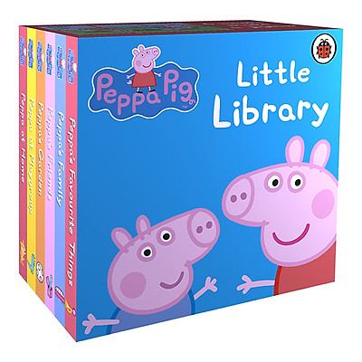 Sách thiếu nhi tiếng Anh - Peppa Pig: Little Library Collection : 6 Books