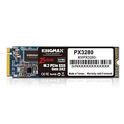 Ổ cứng SSD KINGMAX Zeus 256GB PX3280 NVMe M.2 2280 PCIe Gen 3.0 x2 - Hàng chính hãng