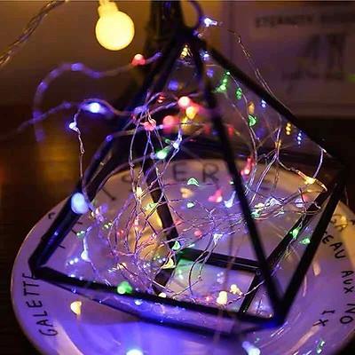 Dây đèn led đom đóm - đèn fairy light Chuyên dùng trang trí decor, trang trí lẵng hoa, hộp quà tặng, giỏ hoa, vòng hoa đội đầu, cây thông Noel đèn fairylight dùng kết hợp với chụp ảnh sản phẩm, cho vào trong chai lọ, trang trí bàn tiệc decor, thậm trí tạo hình quấn quanh người - Thương hiệu KIOTOOL
